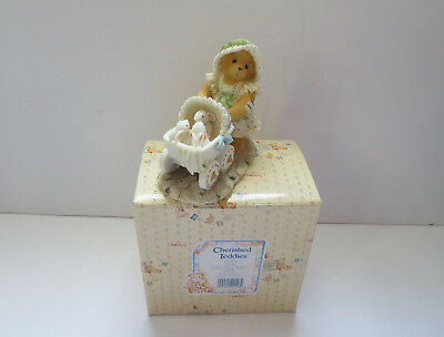 "Cherished Teddies -Jessica- "" A Mother's Heart Is Full Of Love"" by Enesco 1995"