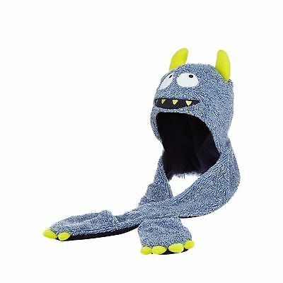 Bluezoo Kids Boys' Blue Monster Hat Scarf From Debenhams