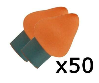 Maxisafe QB200 Replacement Ear Pads Plugs For Supa-Aural Quiet Band Box 50 pairs