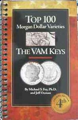 Top 100 Morgan Dollar Varieties: The VAM Keys 4th Edition Gift Free US Shipping