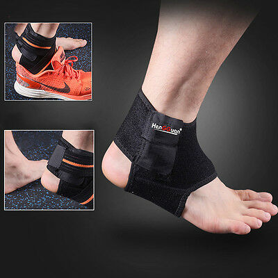 1x Ankle Brace Support Wrap Sport Protection Bandage Strap Injury Arthritis Pain