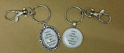 Father of bride keyring wedding gift