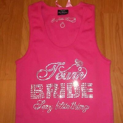 Women's Size Small Victoria's Secret Sexy Little Bride Bling Cami Tank Shirt