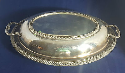 Beautiful Antique Silver Plated 19th Century Tureen by Mappin & Webb