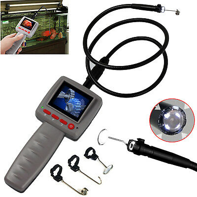 Digital Video Inspection Borescope Endoscope Pipe 10mm 4 LED Camera Snake Scop