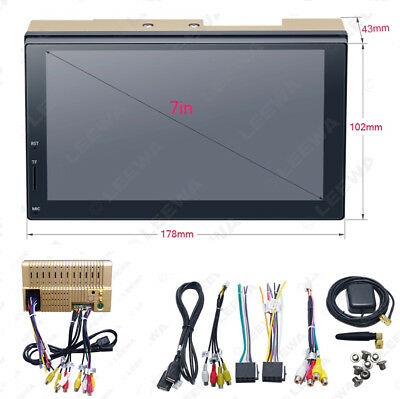 "7"" Digital TFT LCD Touch Screen 2 DIN GPS Navigator Android WIFI Universal Car"