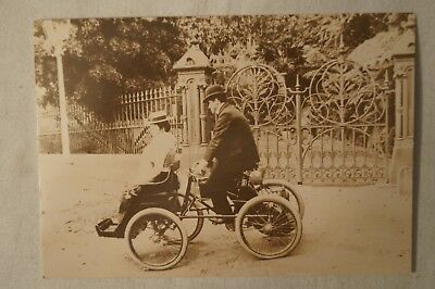 Motor Cycle - The Old Australian Picture Co. - Collectable - Postcard.