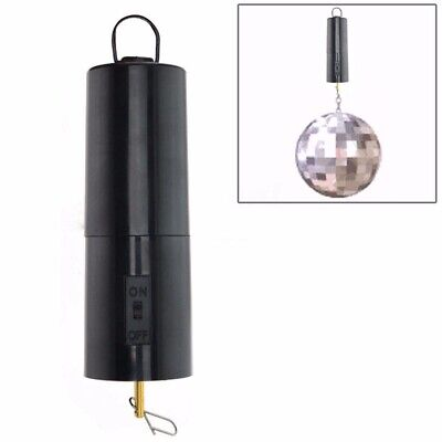Mirror Ball Motor Spin Battery Operated Rotating Turning Disco Party Wedding Kit