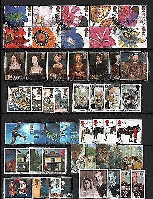 GB Stamps 1997 Commemoratives - Fine used (Multiple listing)