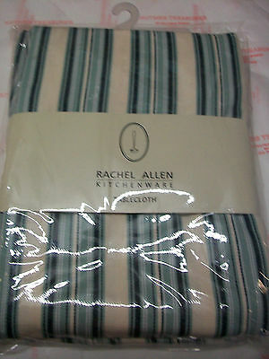 Rachel Allen Tipperary Crystal Turquoise Tablecloth Brand New In Pack
