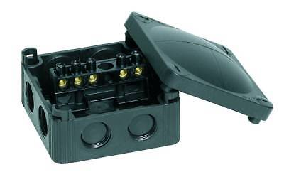 Wiska 308/5 Junction Box Ip66/67 32A Black