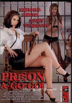 Prison A-Go-Go (DVD, 2005), New, Factory Sealed, Mary Woronov