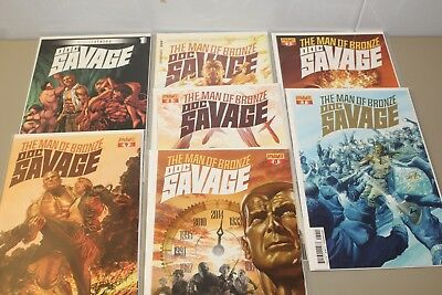 Doc Savage (Dynamite) Comic Books - Lot of 7 - #2-4, #6-8, & #1 Altered States