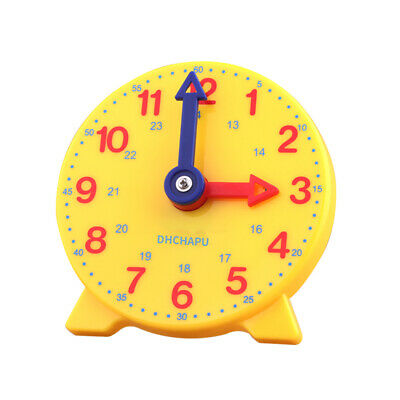 TEACH THE TIME 24 hour student learning clock Maths Home Education
