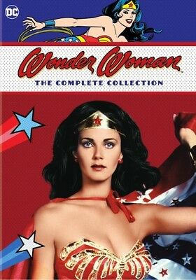Warner Home Video D633724D Wonder Woman-Complete Collection (Dvd/11 Disc/3Pk/...