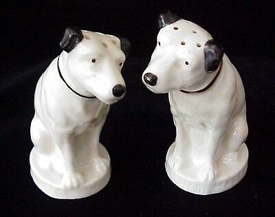 "Vintage Lenox RCA Nipper Dogs Salt and Pepper Shaker ~ ""Master Voice"""