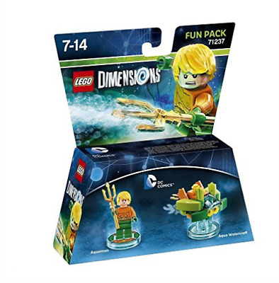 Toys-Lego Dimensions: Fun Pack - Aquaman (DC Comics) /Video Game Toy  GAME NEW
