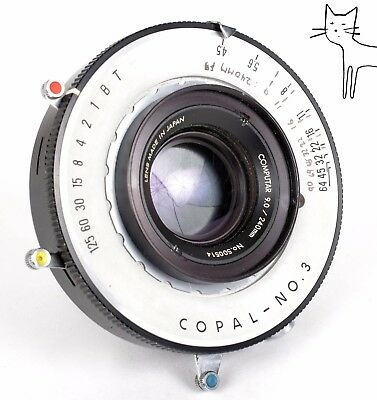computar 240mm f9 lens for large format and ulf (kowa