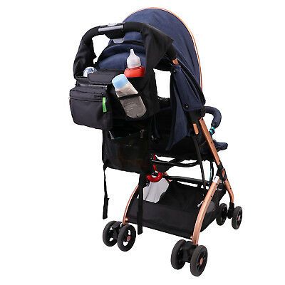 Buggy Mummy Bag Stroller Organizer Pushchair Shopping Travel Hanging Storage Bag