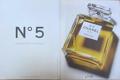 Publicite Presse Advertising 2013  CHANEL  Parfum N° 5 - 2 pages