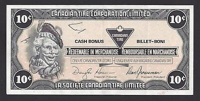 """""""VF+"""" Canada Canadian Tire Money STAR 10 Cents *00024288, #106-3"""