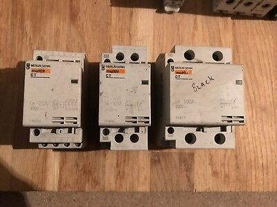 Merlin Gerin Multi 9 CT 4 Pole Contactor 400v 25, 40 & 100A