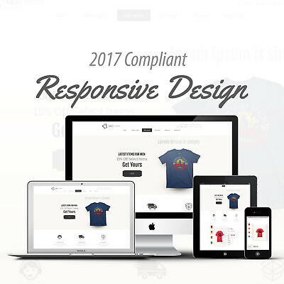2017 Compliant Mobile Responsive Ebay Auction Listing Template Pick T-Shirt