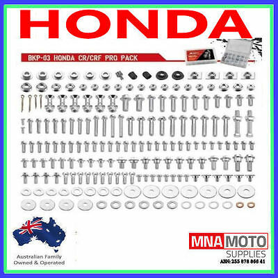 Accel Bolt Kit Suit Honda Crf250 Crf250X 450 Cr125 150 250 500  2003 To 2017