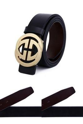 Genuine Leather Thin Belts Fashion Womens Gucci Logo Pattern For Jeans 0 9 New