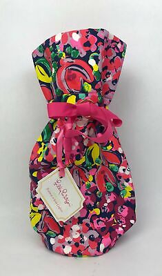 Lilly Pulitzer Wine Tote Gift Bag Case Sleeve in Featured in Wild Confetti - NWT