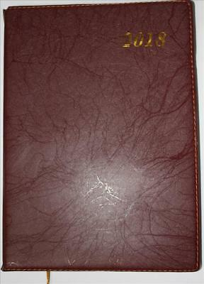 2018 A4 Stylish Calendar year Diary Day To A Page