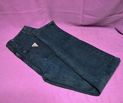 Vintage Guess Georges Marciano USA Blue Classic Retro Mom Jeans Womens Size 26