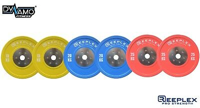 Competition Pro Bumper Plates 120kg Set for Olympic Weightlifting/Crossfit