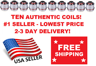 TEN (10) Pack of Uwell Valyrian Tank Coils - 0.15 Ohm AUTHENTIC 3 Day Delivery
