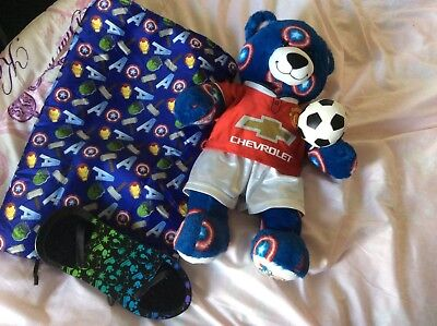 Build A Bear Manchester City Kit