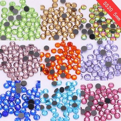 144/1440p DMC ss20 colors Iron on hot-fix crystal rhinestones Dress making Beads