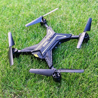 Camera Drone RC WIFI Control 6CH Headless Mode 2.4Ghz Fly Quadcopter Black FPV