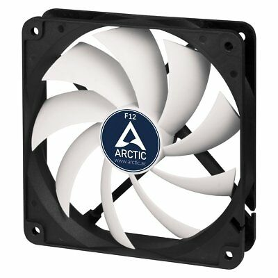 Quiet 120mm Case Fan Arctic Cooling F12 Low Noise Fluid Bearing Silent Efficient