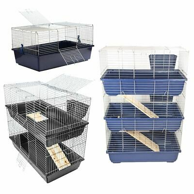 Indoor Rabbit Pet Cage Guinea Pig Rat House Home Hutch Small Animal Enclosure