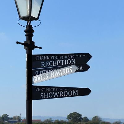 Cast Iron Business Lamppost Signs – Lamppost Accessories