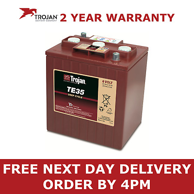 Trojan 6V 245Ah Deep Cycling Leisure Boat Marine Battery - TE35