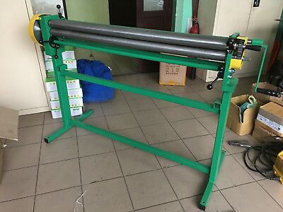 Sheet Metal Rolling Mill Bending Rolls Slip Rolls Rollers 1250mm / 1.0mm VIDEO