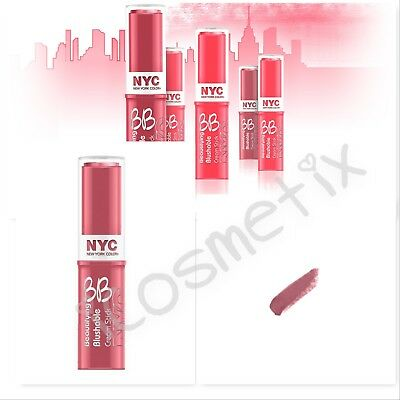 NYC Beautifying Blushable Cream Stick Shade 001 Soho Pink