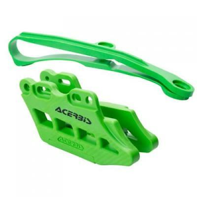 Acerbis Chain Guide and Slider Kit 2.0  Green KAWASAKI KX450F 2016;
