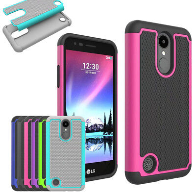 FOR LG K4 2017 / Phoenix 3 Case Rugged Shockproof Protective Armor Phone  Cover