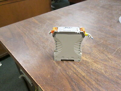 Weidmuller Solid State Relay 827539 Input:3.5-15VDC Output:5.48VDC 100mA Used