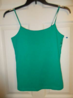 New Directions Women's Green Camisole Tank Top  Size:  Medium   NWOT