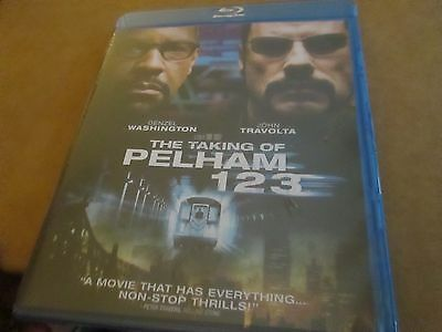 THE TAKING OF PELHAM 1 2 3 (BLU-RAY Disc 2009) BRAND NEW SEALED