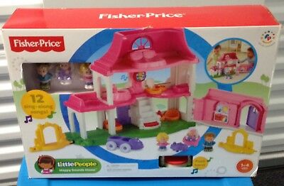 Fisher-Price Little People Happy Sounds Home #Y3678