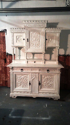 shabby chic buffet vintage brocante k che wei antik eur 1 00 picclick de. Black Bedroom Furniture Sets. Home Design Ideas